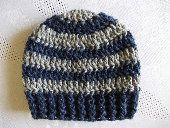 Wool baby hat Striped boy hat Newborn boy hat Winter baby hat  46cd2fa9e11