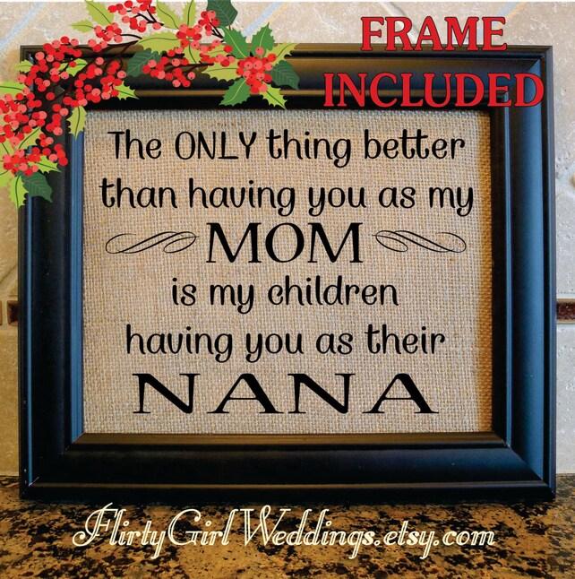 Christmas Gift for NANA Grandmother Christmas MIMI | Etsy