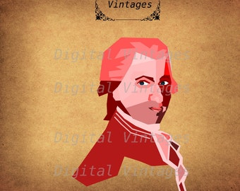 Mozart - Clip Art - $1.00 : Dollar Graphics Depot, Quality Graphics ~  Discount Prices