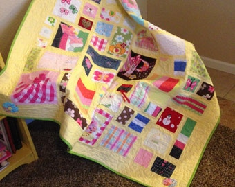 Baby Cloths Quilt