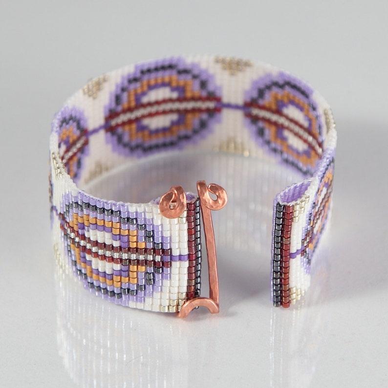 6c3144294eaf Anillos de violeta con 24 k oro telar pulsera joyería