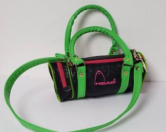 8732cbd0c 1990s 90s Neon Mini Head Sports Handbag