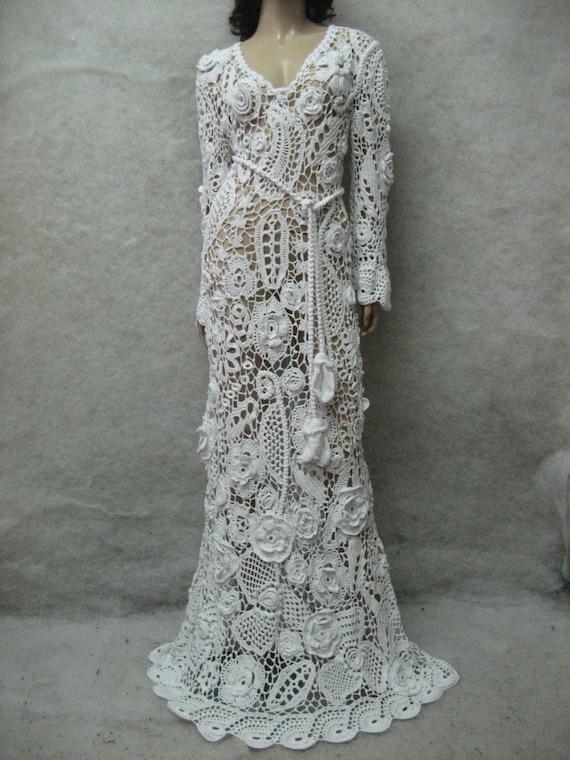 Crochet Wedding Gowns