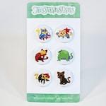 Marvel Hero Cats Pin/Magnet Set