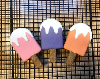 Gourmet Dog Cookie - Popsicle dog cookies - Dog Treat - Dog - Dog Bakery