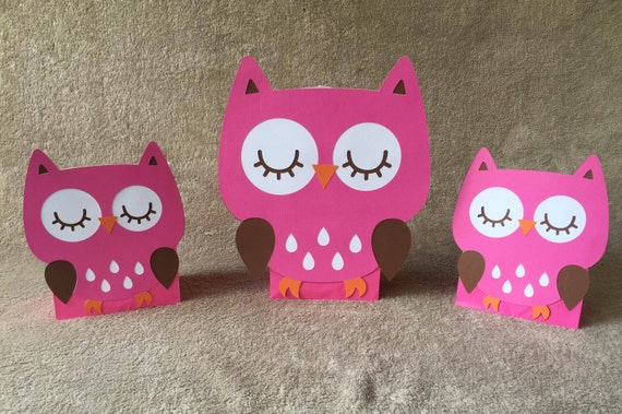 Pink Owl Balloon Centerpieces Great For Birthday Party Or Etsy