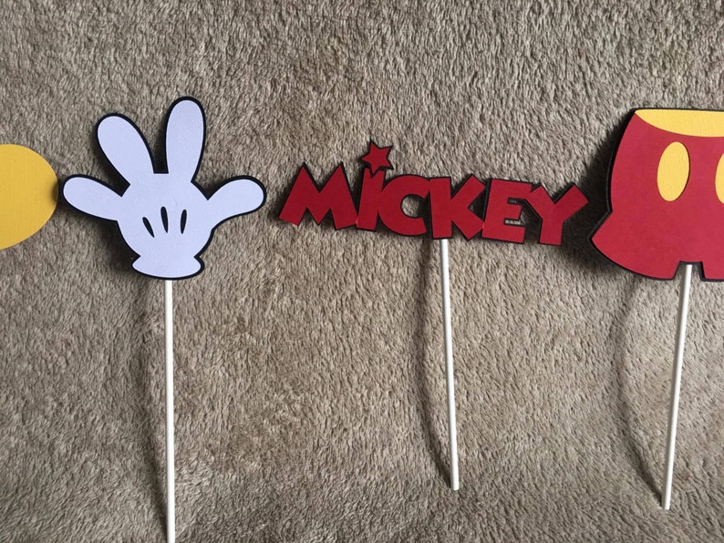 and Hand Free shipping Mickey Mickey head,Shoe Personalized with age Pants 5 Mickey Mouse centerpices