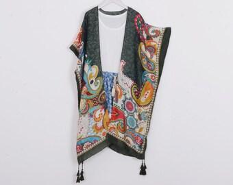 befe5505fc1 Bohemian kimono | Etsy