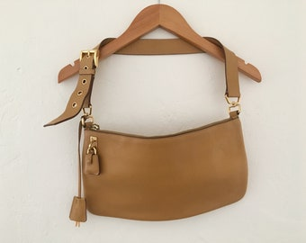 6bf94237838680 ... coupon code for prada natural color leather saddle bag with belt style  strap 47e31 b4851