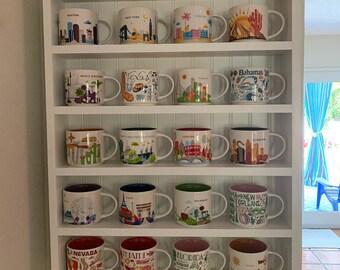 Bon Entryway Shelf Coffee Mug Shelf Kitchen Storage Bathroom