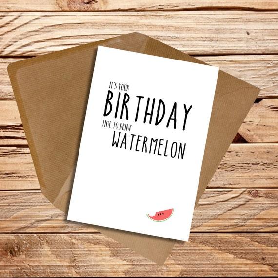 Funny Birthday Card Husband Wife Girlfriend Boyfriend Friend Etsy