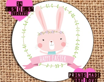 Happy Easter stickers 1 picture only 24 stickers