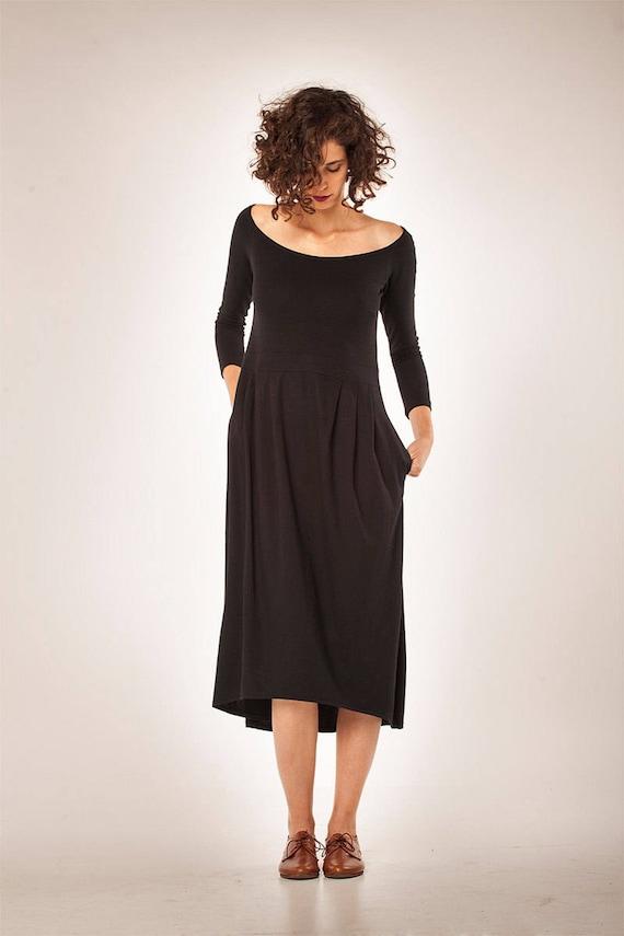 Kleidung der Frauen   Winter Kleid   kleine schwarze Kleid     Etsy d75293dba5
