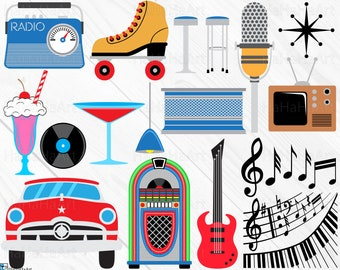 Free 50S Theme Cliparts, Download Free Clip Art, Free Clip Art on Clipart  Library
