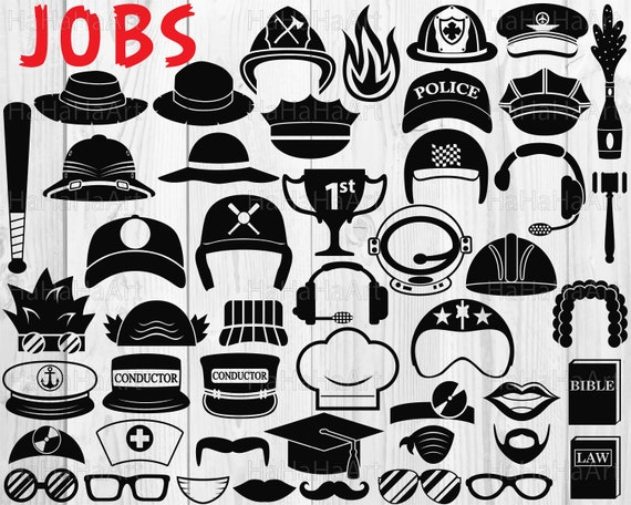 53bcff4aa7a Jobs Monogram Clip art   Cutting Files svg eps dxf png jpg