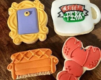 Friends Inspired Cookie Cutter Set