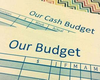 Budget Planning System for A5 Planner