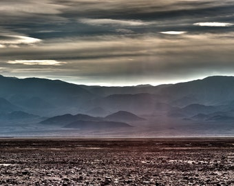 Photons, Death Valley, Desert, Landscape, Travel, Giclée Print, Archival, Photograph, Color