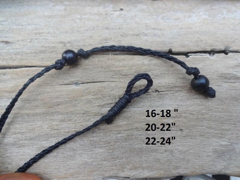 Green Stilbite round stone necklace