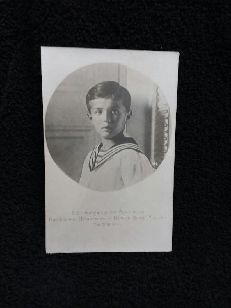 Czarevich Alexi Nicholaevich of Russia Antique Postcard