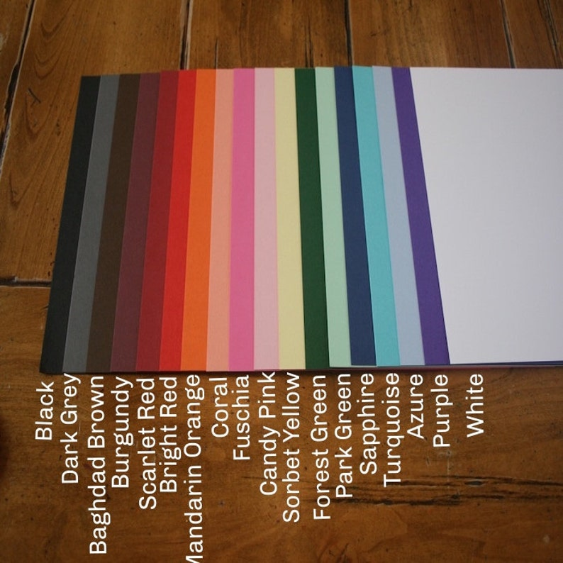 card stock cardstock paper heavy weight colorplan basis  etsy