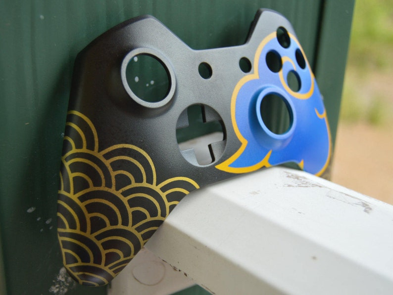 Overwatch Custom Painted Hanzo Xbox One Controller Faceplate