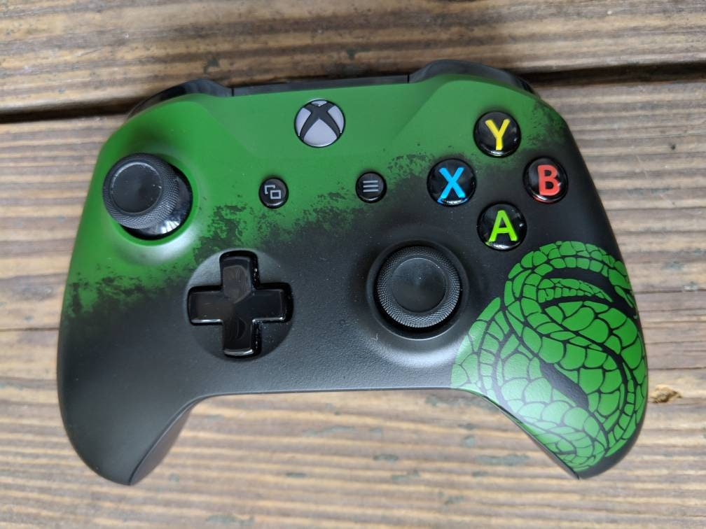 Destiny 2 Style Gambit custom painted Xbox one X Controller