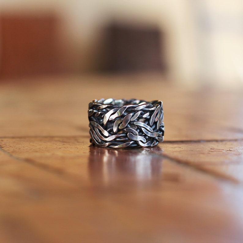 Men silver  ring