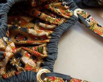 Denim - Batik reversible