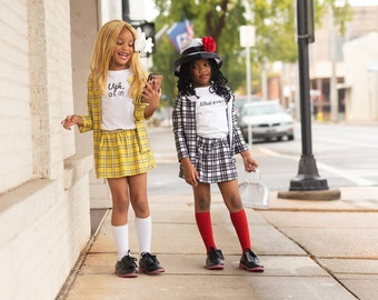 Dionne Clueless costume, Dionne costume,Halloween Costume, Toddler Costume,Dress Up Clothes, Newborn Costume,Cher, kids costume, costume