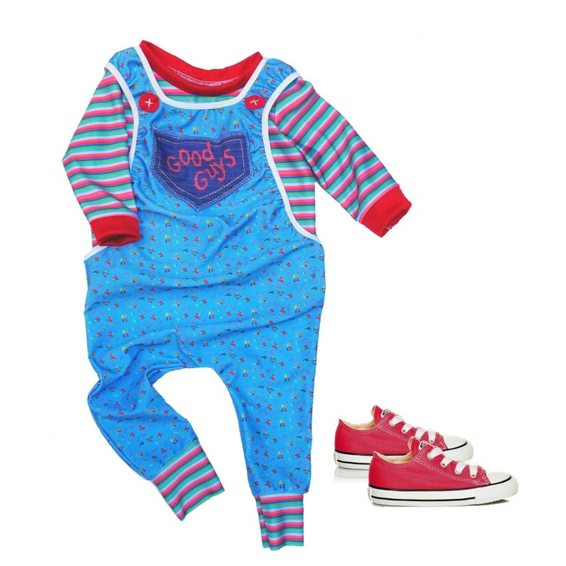 c08bd0f8 Chucky inspired toddler costume/ Chucky costume/ Chucky baby   Etsy