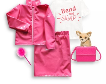 Legally blonde costume, elle woods, toddler halloween Costume, Toddler Costume, Dress Up Clothes, baby costume Costume, kids pink costume