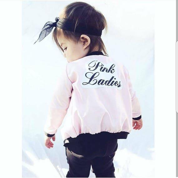 Veste Pink Ladies Sandy Costume De Graisse Pink Ladies Etsy