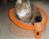 Items Op Etsy Die Op Moderne Huisdier Meubilair Haak Kat Bed Kat
