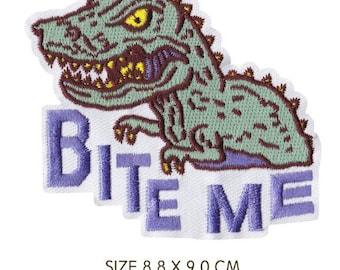 Gators Mascot Logo Patch Large Iron On Patch