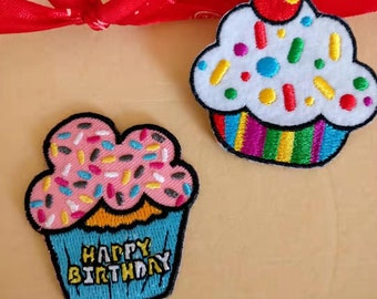 Balloons Iron on Applique//Embroidered Patch Party//Shimmery//Celebration
