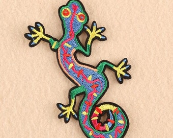 rainbow lizard etsy