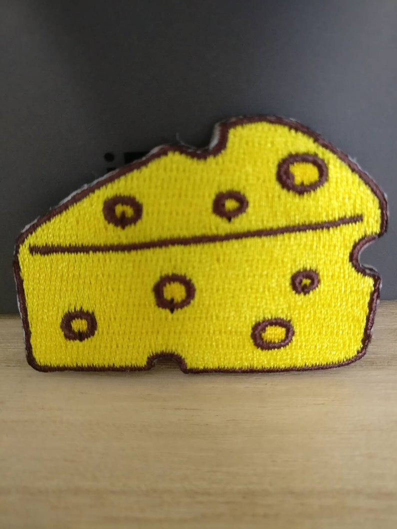 Cheese applique Iron on patches diy sewing 5x3 5cm 2inch Wholesale bulk lot  sale discount