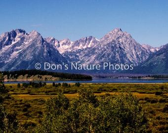 Grand Tetons, Wyoming. #4024