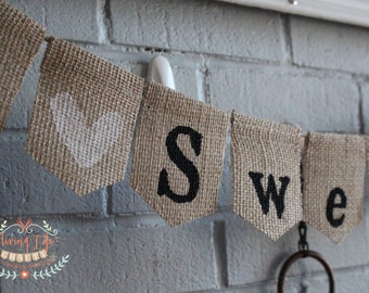 Home Sweet Home Banner, House Warming Decoration, Homecoming Sign, Military Bunting, Home Decor, Housewarming Gift, New Home, Welcome Home