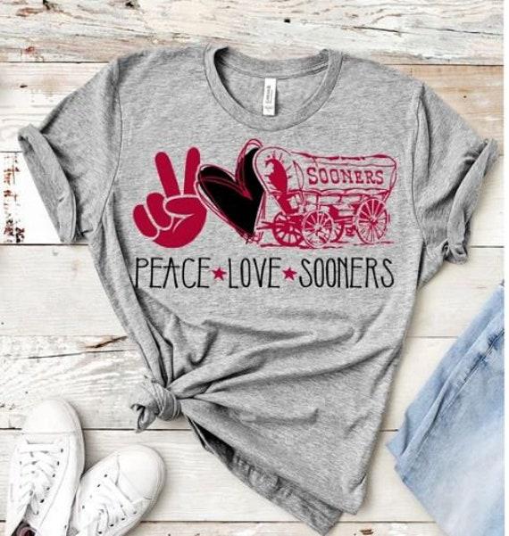 Sooners Love OU Shirt