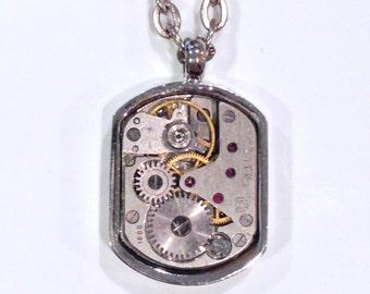 Steampunk Watch Movement Necklace