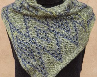 Knit cowl silk wool one size 7122158