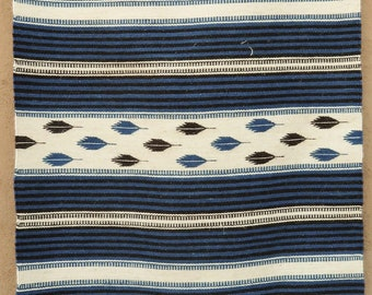 Chimayo style weaving by Rudy Lee Valdez, 30x60 inch handwoven churro wool using natural dyes 4121623