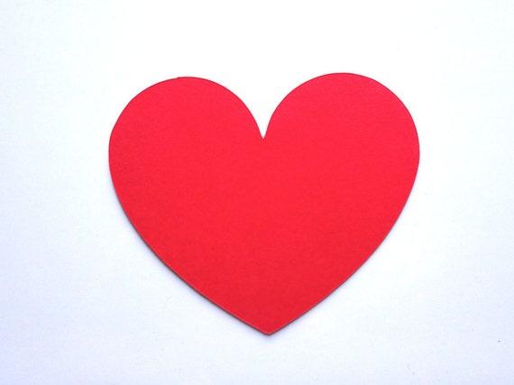 Heart Die Cut Bulk Out Hearts Card Stock Paper