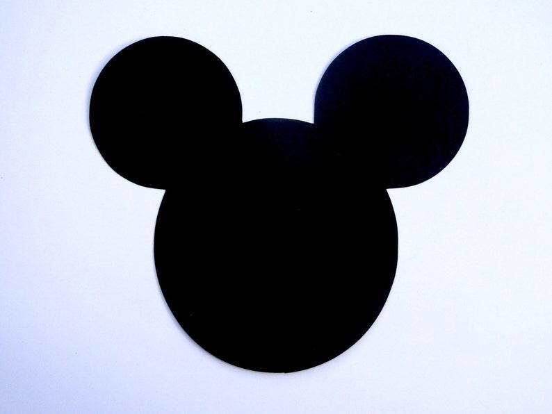9561ac65e45 6 Mickey Mouse Head Ears Die Cut Disney Mickey Mouse