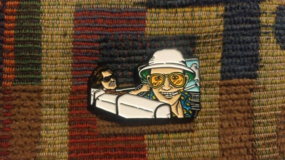 """Fear and Loathing in Las Vegas 2.25/"""" Refrigerator Magnet Gonzo Hunter Thompson"""