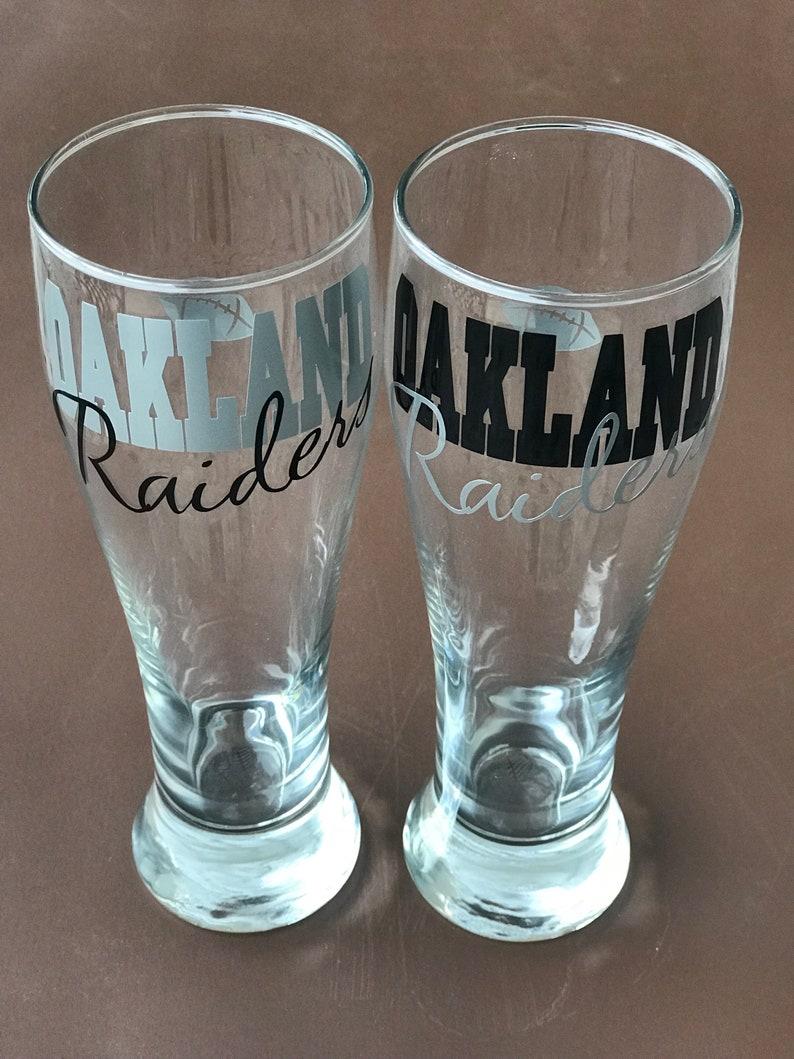 a0ed5a799f4a Oakland Raiders Glassware Sports Glassware Football Raiders