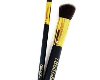 Pretend Play - pretend makeup 2 Brush Set - Pretend Play Makeup - No color, No mess! - fake makeup - kids cosmetics - pretend - kids makeup