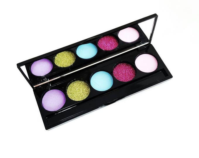 Kids Pretend Play Makeup - 5 Color Makeup Palette -  No color, No mess! - kids makeup - fake makeup - pretend play - cosmetics - toy
